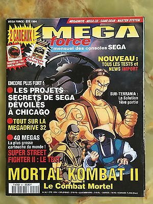 Megaforce 30 Été 94 Magazine De Jeux Video Nintendo Sega Xbox Playstation