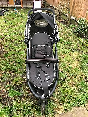 Hauck Freerider Black Travel System Single Seat Stroller