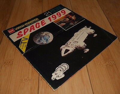 Vintage Gerry Anderson Space 1999 Original 1974 View Master 3D Reels Nd150 Rare