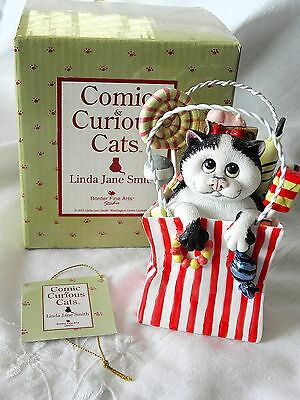 Border Fine Arts~ Comic & Curious Cats ~ Dolly Mixtures A20926~ Linda Jane Smith