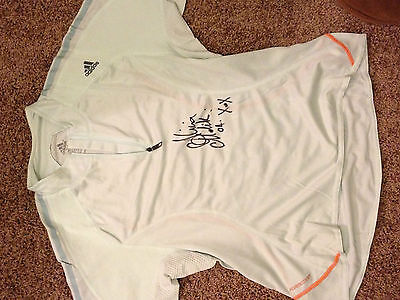 Alicia Molik signed top and matching skirt