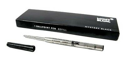 Montblanc Recharge pour stylo bille (B) Mystery Black