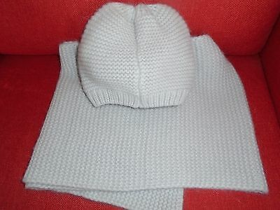 ladies hat and scarf set by shop direct one size new