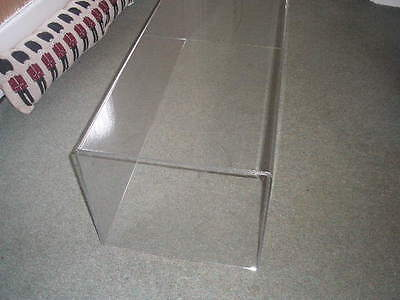 Clear Plastic Model Display Case 31 x 36 x 96 cm Diexast Cabinet