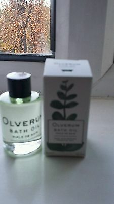 Olverum Bath Oil 15ml - NEW & BOXED - SPACENK CULT BEAUTY