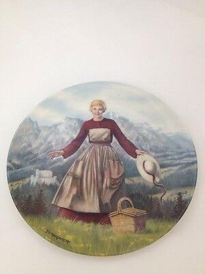 "Knowles ""The Sound Of Music"" 1986 Plate (2) (BOX 11)"