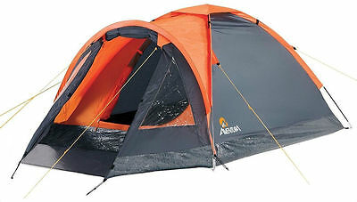 Aventura 2 Person Man Berth Dome Tent with Porch for Camping Hiking Festival