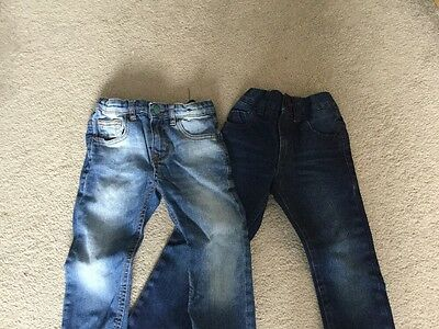 Boys Jeans From Next And Zara Aged 4 Excellent Condition