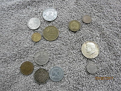 coins mixed lot