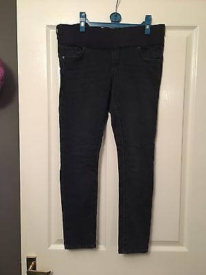 Topshop Leigh Skinny Maternity Jeans Size 10 Leg 30