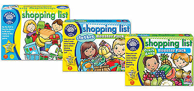 Orchard Toys Shopping List Value Pack - Great Value and Multi-Pack - New