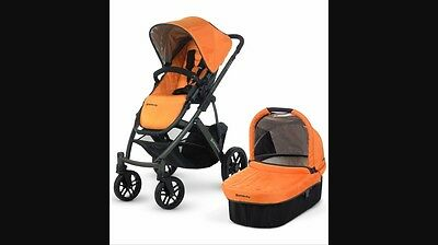 Uppababy Drew Fabric Set- Canopy And Seat Fabric