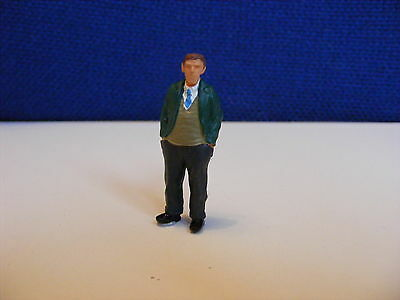 Smart Man with Hands in Pockets - 1:43 O Gauge Painted Metal Model