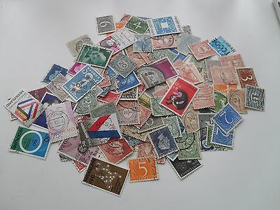 Netherlands Collection Of Hundred + Stamps Includes Old Used Stamps