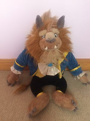 Disney Beauty and the Beast Beast Soft Toy Disney Store