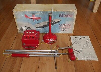 Vintage Nulli Secundus Remote Control Helicopter 50's Boxed Rare Made in England