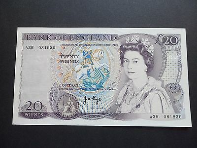 First Series  Bank Of England  £20 Pound Note - J.b.page    A35 081930