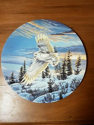 "Spirits of the Sky Series Collectible Plate - ""Twilight Glow"""