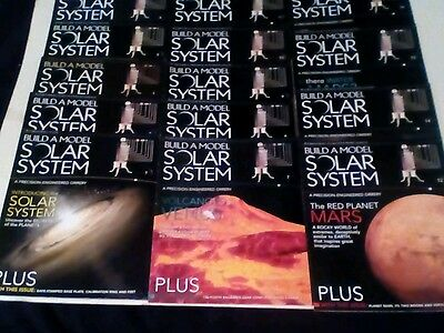 BUILD A MODEL SOLAR SYSTEM MAGAZINE x 14 ISSUES LOT