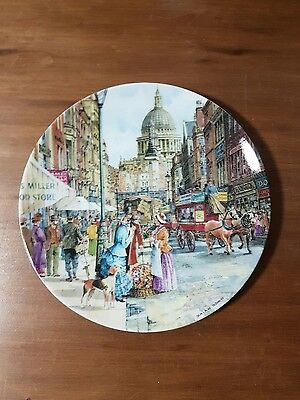 "Cries of London Collectors Plate - ""The Flower Seller"""