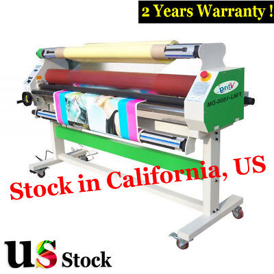 "USA Stock - 60"" Economical Full-auto Low Temp Wide Format Cold Laminator Machine"