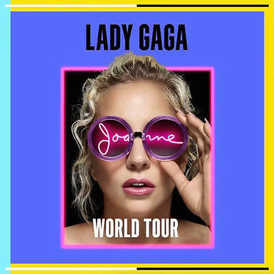 Lady Gaga - Joanne Tour London 02 9/10/17 Block 111 Row J