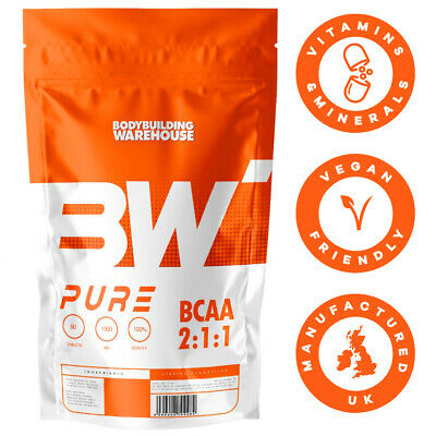 Pure BCAA 2:1:1 Amino Acid Tablets X 60/90/120 Tablets Branch Chain Amino Acids