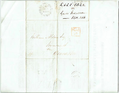1843 Leeds and Liverpol Canal Accounts on entire to William Aldam, MP