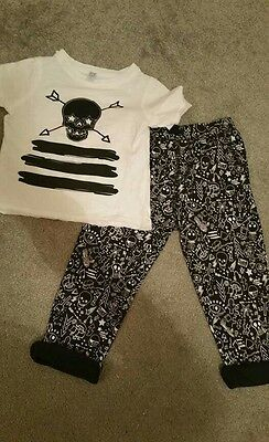 designer boys set trousers and top t shirt 3 years