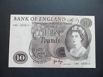 Bank Of England  £10 Pound Note - J.b.page    C80 067615