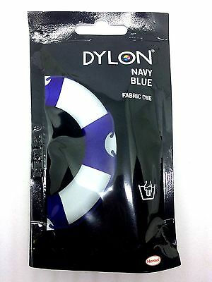 Navy Blue Reactive Premium Dylon Fabric Dyes Colored Non-toxic No Relentless
