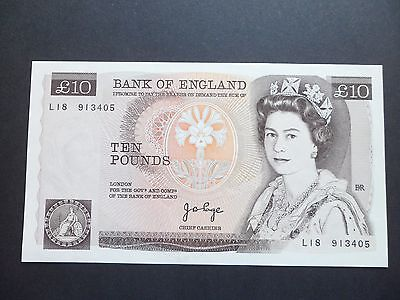 Bank Of England  £10 Pound Note - J.b.page    L18 913405