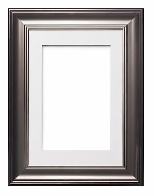 Shabby Chic Picture Frame, SC Photo / Poster Frame With Bespoke Mount  Gunmetal
