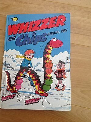 Vintage Whizzer And Chips Annual 1987