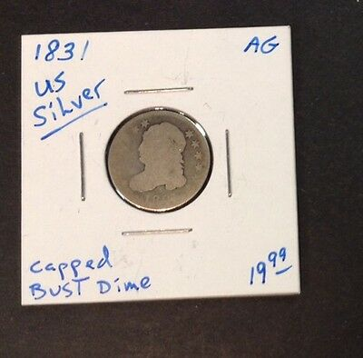 1831 US Silver Capped Bust Dime