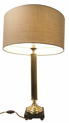 Table Desk Lamp EMPIRE Column Antique French Neo Classical Bronze Gilded