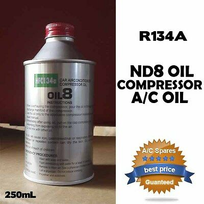 ND8 R134a A/C Auto Air Conditioning Compressor Oil Lubricant Toyota Mazda HOLDEN