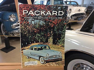 1955 Packard Color VERY Large Brochure