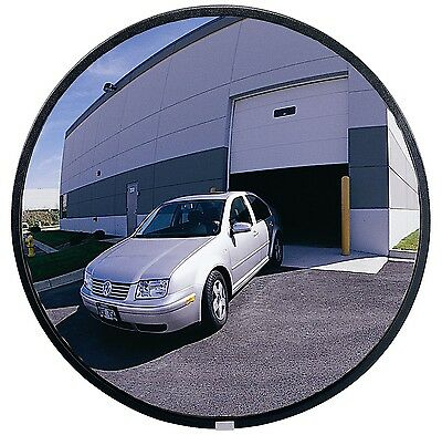 "See All PLXO12 Circular Acrylic Heavy Duty Outdoor Convex Security Mirror 12""..."