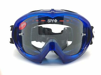 6fc8a2bf83a59 SPY+ Optic Targa MX Mini Goggle 320391104097 Blue Crystal with Clear AFP  Lens