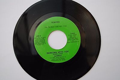 """LeVert Dancing With You / All In The Way You Dance 7"""" 45rpm VINYL"""