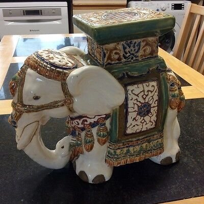 Heavy Large China Elephant figurine ornament