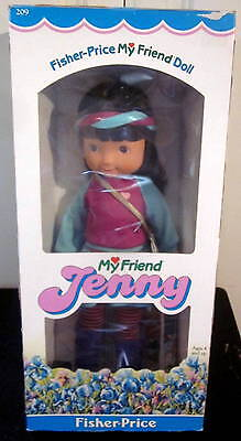 Vintage 1984 Fisher Price My Friend Jenny Doll #209 NEW in Box Aerobics Exercise