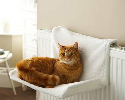 Cat Radiator Bed Animal Pets Sleep Nap Warm Cosy Easy To Attach