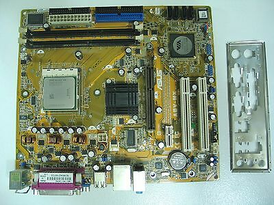 ASUS A8V-MX Socket 939 Motherboard with AMD Athlon 64 3000 CPU