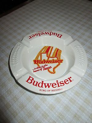 Haeger 1960's Budweiser ASHTRAY Deep in the Heart of Texas Ceramic