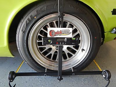 Wheel Alignment Kit in Case - No lift needed, hands free complete w/dual sides