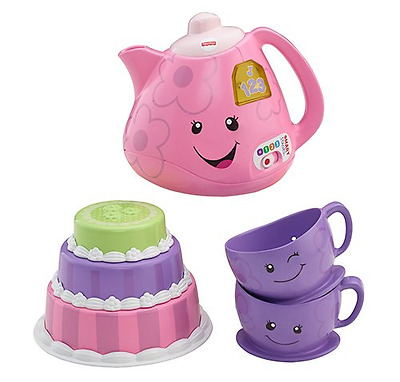 Fisher-Price Laugh & Learn Smart Stages Tea Set-French Edition