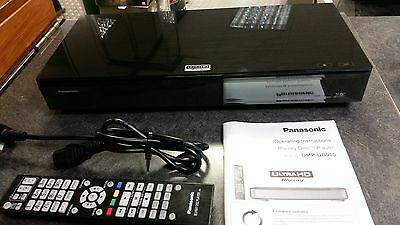 Panasonic DMP-UB900 4k Ultra HD 3D Blu-ray player, with wi-fi,