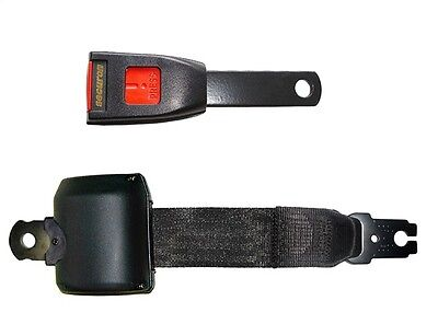 Seat Belt - Retracting Lap - Black SECURON 2220/15